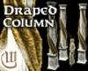 Draped Column