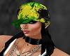 hair hat black jamaica