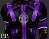CyGoth Jacket - Purple