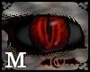 Black Red Vampire Eyes M