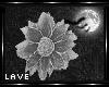 glittering grey rose