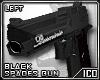 ICO Blk Spades Gun M L