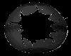 black easter egg frame