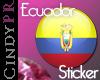 *CPR Ecuador Flag