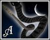 Medusa snake tail