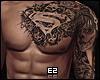Ez  Chest + Arm Tattoos
