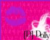purple kiss mark