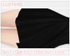a Long Skirt /black
