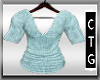 CTG TEAL CASHMERE TOP