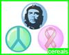#Peace Badges
