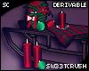 S| Christmas Sled Table