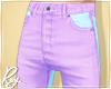 Purple Pastel Jeans