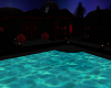 Dark House With Pool