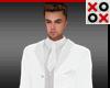 Santino Full Suit White