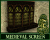 Medieval Screen Green