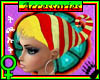 Tck_Faeie Striped Bonnet