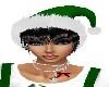 X-MAS GREEN HAT/BLACK
