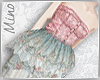 Doll Dress: Blue&Pink