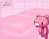 ♡ Pink Sectional v2♡