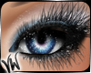 Stormy Blue Eye Makeup