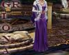 GR 2 Medival Purple Gown