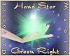 Hand Star (Green Right)