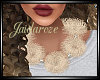 Puffball Necklace/ Ivory