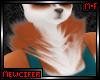 M! Copper Husky Neck Fur