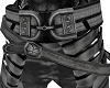 Silver Thick Armor Belt