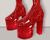 I│Vinyl Flatforms Red