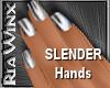 Wx:Slender Chrome Nails
