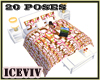 Moden 20 Poses Love Bed