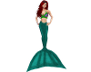 Ariel Mermaid Cosplay outfit disney little cartoon beach tail  s
