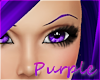 Purple Thin Eyebrows