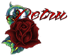 Ebony Lolita Red Bow
