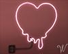 Feels Pink Neon Heart