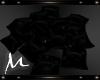 *M* Black Pillow Pile