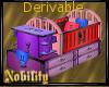 Derivable Crib Mesh