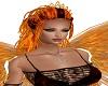 Queen Blk Fire Hair