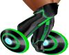 green futuristic skating