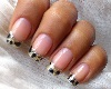 Leopard French Tip NAILS