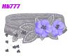 HB777 SFF Belt Blu/Slvr