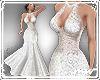 !Wed dress plunge pft