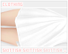 a Long Skirt /white