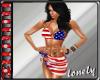 [L0] USA Bikini & pareo