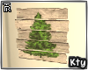 Wood Christmas Tree Sign