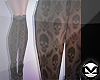 m> Socks Sheer Skulls