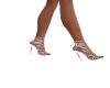 Skye Silver Heels