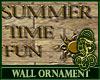 Summertime Wall Ornament
