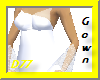 Zashie Gown-White
